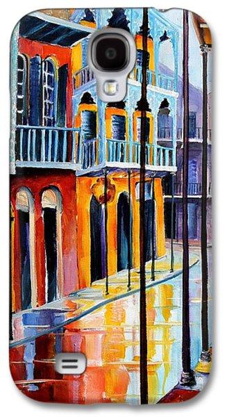 Rain On Royal Street Galaxy S4 Case by Diane Millsap