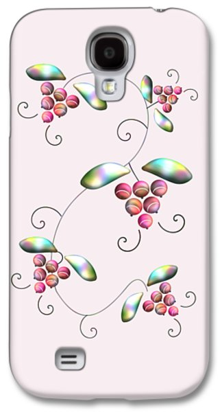 Rainbow Berries Galaxy S4 Case by Anastasiya Malakhova