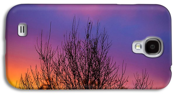 Abstract Nature Galaxy S4 Cases - Rainbow Clouds Galaxy S4 Case by Az Jackson