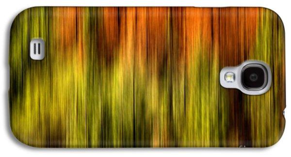 Vibrant Colors Digital Galaxy S4 Cases - Rainbow Delight Galaxy S4 Case by Az Jackson