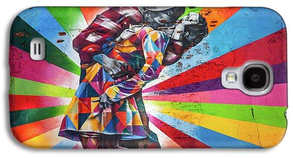 Rainbow Kiss Galaxy S4 Case by Az Jackson