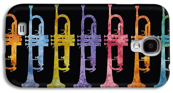Rainbow Of Trumpets Galaxy S4 Case by Jenny Armitage