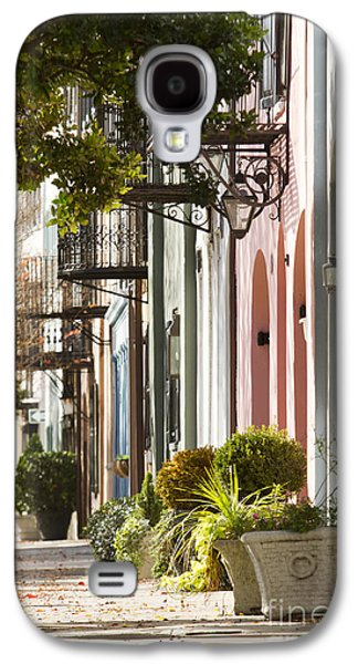 Carolina Galaxy S4 Cases - Rainbow Row Charleston SC 2 Galaxy S4 Case by Dustin K Ryan