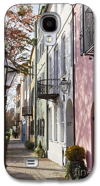 Rainbow Galaxy S4 Cases - Rainbow Row Charleston SC 3 Galaxy S4 Case by Dustin K Ryan