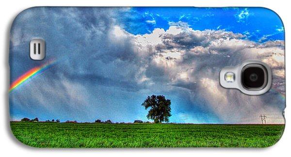 Rainbow Tree Galaxy S4 Case by Scott Mahon