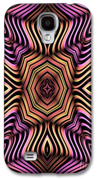 Abstracts Galaxy S4 Cases - Rainbow Web Galaxy S4 Case by John Edwards