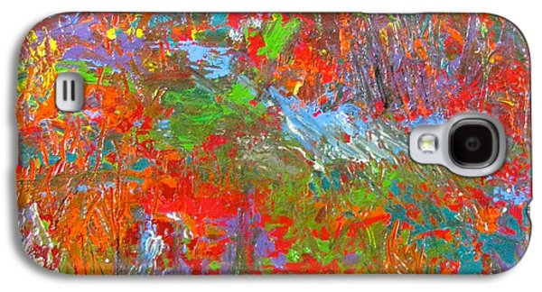 Abstract Forms Galaxy S4 Cases - Rainforest Symphony Galaxy S4 Case by Christopher Chua