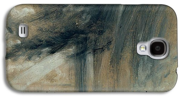 Thunder Paintings Galaxy S4 Cases - Rainstorm over the Sea Galaxy S4 Case by John Constable