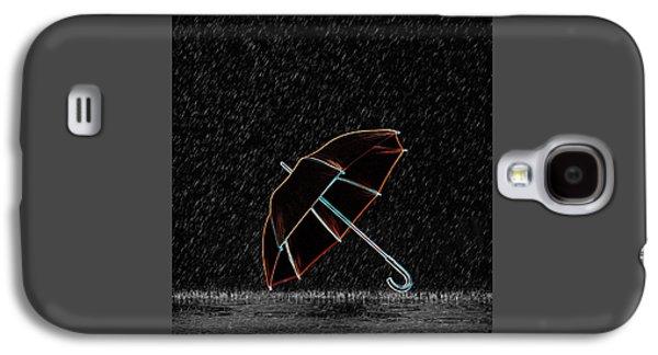 Rainy Night  Galaxy S4 Case by Art Spectrum