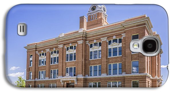 Landmarks Photographs Galaxy S4 Cases - Randall County Courthouse Canyon Galaxy S4 Case by Joan Carroll