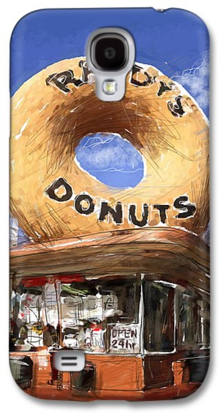 Randy Galaxy S4 Cases - Randys Donuts Galaxy S4 Case by Russell Pierce