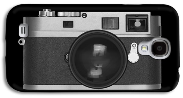 Aperture Galaxy S4 Cases - Rangefinder Camera Galaxy S4 Case by Setsiri Silapasuwanchai