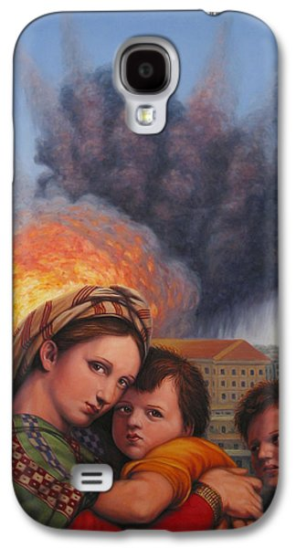 Master Paintings Galaxy S4 Cases - Raphael Moderne Galaxy S4 Case by James W Johnson