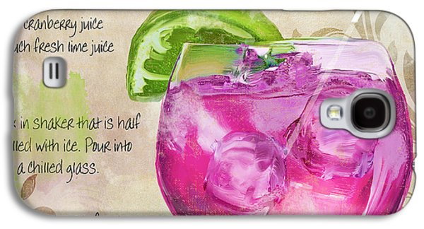 Rasmopolitan Mixed Cocktail Recipe Sign Galaxy S4 Case by Mindy Sommers