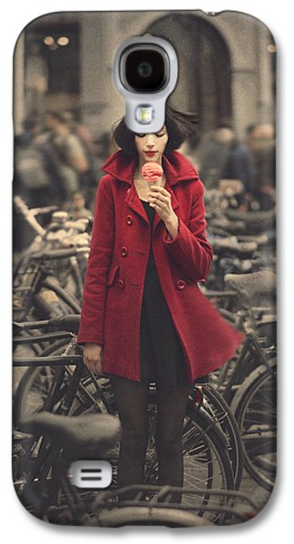 raspberry sorbet in Amsterdam Galaxy S4 Case by Anka Zhuravleva