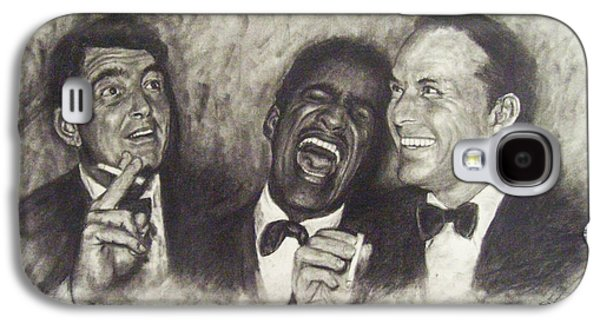 Rat Pack Galaxy S4 Case by Cynthia Campbell