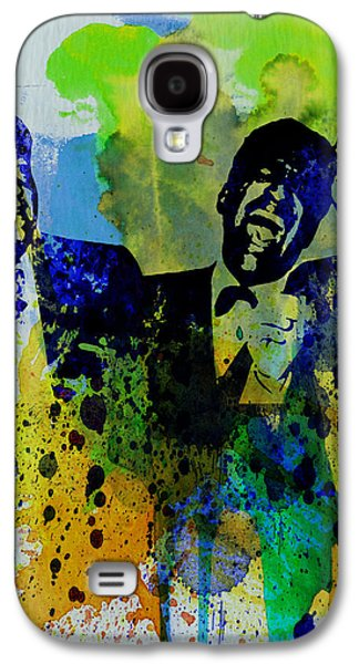 Musician Paintings Galaxy S4 Cases - Rat Pack Galaxy S4 Case by Naxart Studio