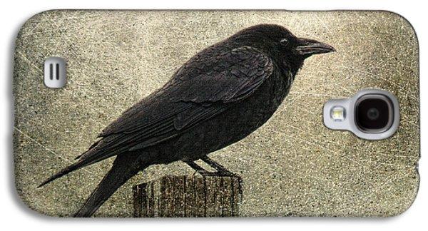 Raven Galaxy S4 Case by Elena Nosyreva