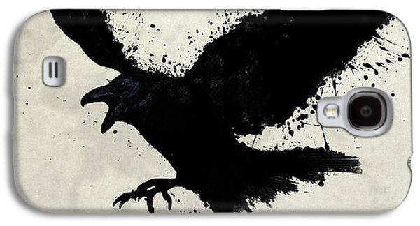 Raven Galaxy S4 Case by Nicklas Gustafsson