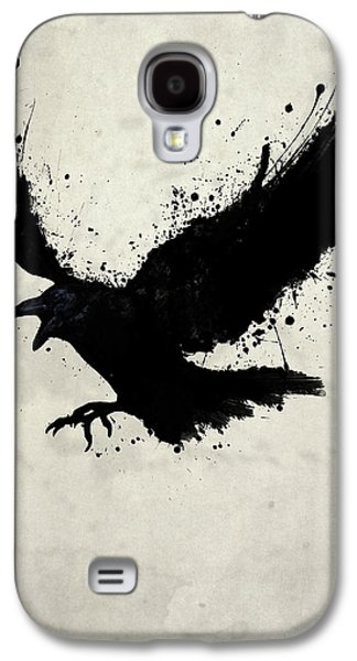 Drips Galaxy S4 Cases - Raven Galaxy S4 Case by Nicklas Gustafsson