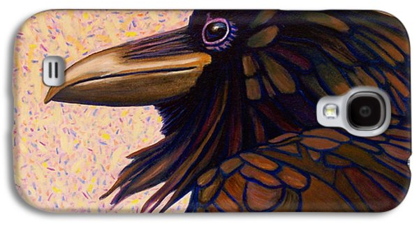 Raven Shaman Galaxy S4 Case by Brian  Commerford