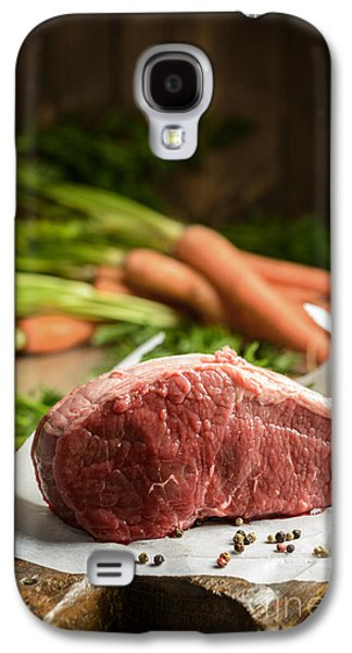 Joints Galaxy S4 Cases - Raw Beef With Carrots Galaxy S4 Case by Amanda And Christopher Elwell
