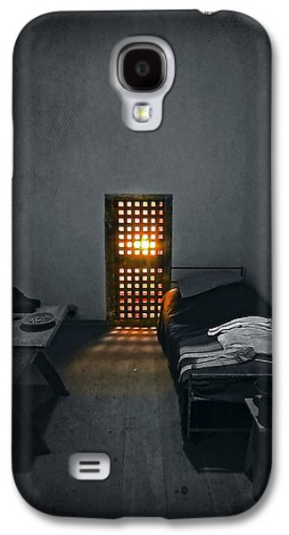 Jail Galaxy S4 Cases - Rays of Freedom Galaxy S4 Case by Evelina Kremsdorf