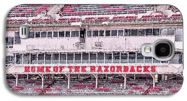 Razorback Stadium Galaxy S4 Case by JC Findley