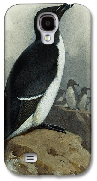 Razorbill Galaxy S4 Case by Archibald Thorburn