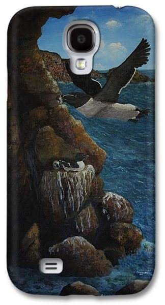 Razorbills Galaxy S4 Case by Eric Petrie