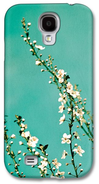 Pink Blossoms Galaxy S4 Cases - Reach Galaxy S4 Case by Melanie Alexandra Price