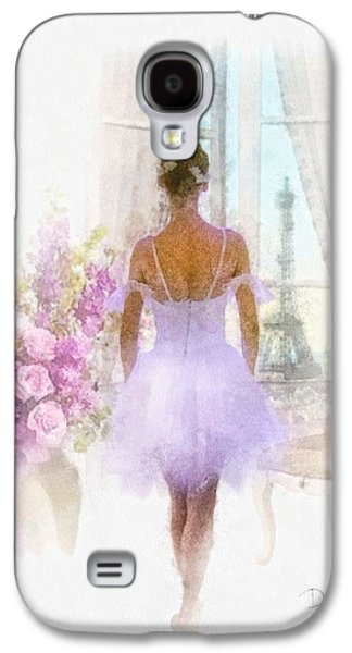 Dance Ballet Roses Galaxy S4 Cases - Ready Galaxy S4 Case by Mo T
