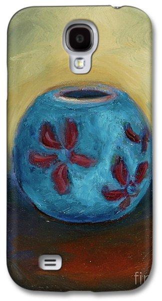 Receive Paintings Galaxy S4 Cases - Ready to Receive Galaxy S4 Case by Karen Francis