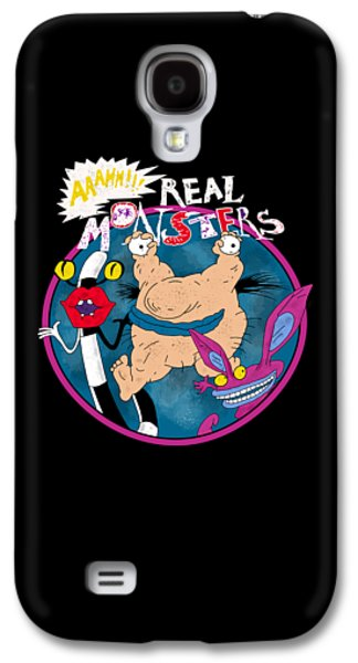 Real Monsters Galaxy S4 Case by Yilmaz Ozturk