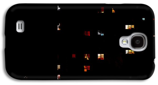 Rear Windows Galaxy S4 Case by Rona Black