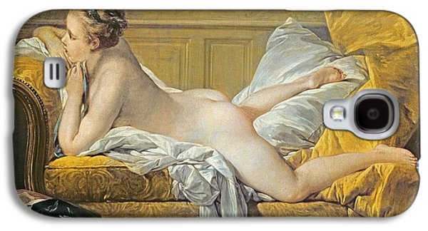 Reclining Nude Galaxy S4 Case by Francois Boucher