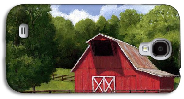Red Barn In Franklin Tn Galaxy S4 Case by Janet King