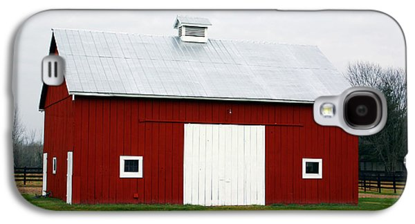 Red Barn- Photography By Linda Woods Galaxy S4 Case by Linda Woods