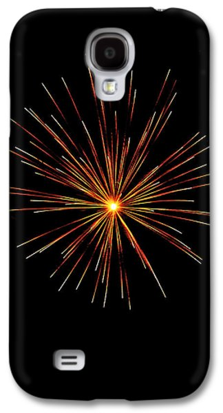 4th July Galaxy S4 Cases - Red Burst Galaxy S4 Case by Phill  Doherty