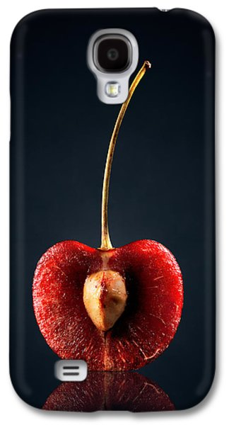 Studio Photographs Galaxy S4 Cases - Red Cherry Still Life Galaxy S4 Case by Johan Swanepoel