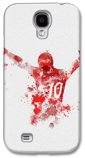 Red Devil Portrait Galaxy S4 Case by Rebecca Jenkins