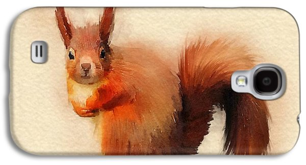 Red Galaxy S4 Case by John Edwards