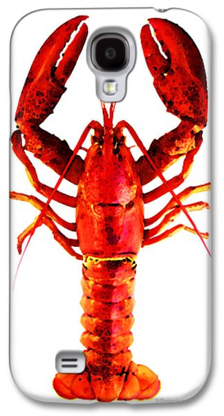 Buy Digital Galaxy S4 Cases - Red Lobster - Full Body Seafood Art Galaxy S4 Case by Sharon Cummings