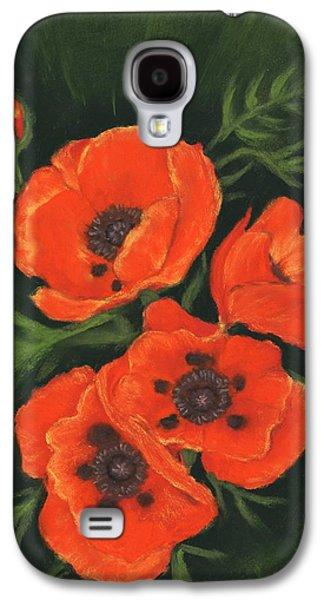 Red Poppies Galaxy S4 Case by Anastasiya Malakhova