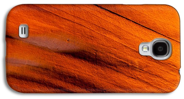 Red Rock Abstract 2 Galaxy S4 Case by Az Jackson