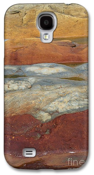 Abstract Nature Galaxy S4 Cases - Red Rock Galaxy S4 Case by Tim Gainey