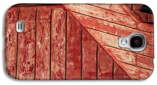 Abstracted Galaxy S4 Cases - Red Roof Galaxy S4 Case by Karol  Livote