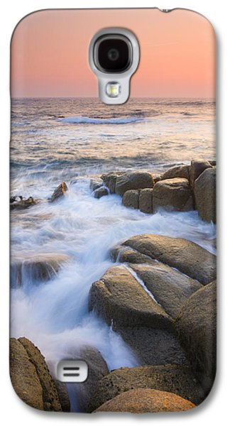 Ocean Photographs Galaxy S4 Cases - Red Sky At Morning Galaxy S4 Case by Mike  Dawson