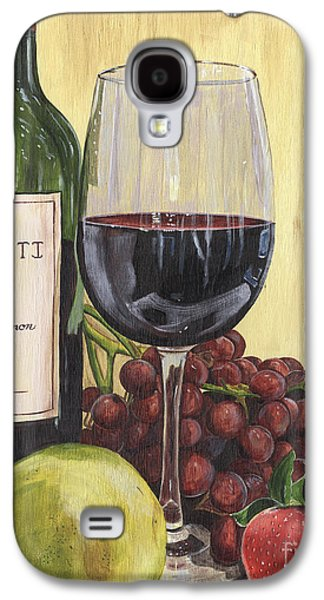 Vines Galaxy S4 Cases - Red Wine and Pear 2 Galaxy S4 Case by Debbie DeWitt