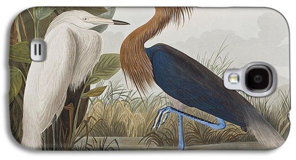 Reddish Egret Galaxy S4 Case by John James Audubon